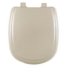 Assento Sanitário Plástico Areia Fechamento Comum Fixação Branca para Vaso Icasa Sabatini