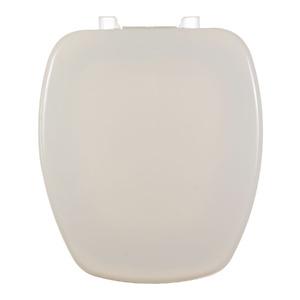 Assento Sanitário Plástico Biscuit Fechamento Comum Fixação Branca para Vaso Incepa Thema