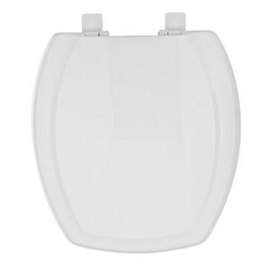 Assento Sanitário Plástico Branco Fechamento Comum Fixação Branca para Vaso Incepa Thema