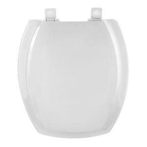 Assento Sanitário Plástico Branco Fechamento Suave Fixação Branca para Vaso Incepa Thema