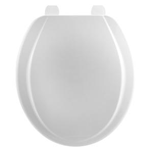 Assento Sanitário Plástico Branco Fechamento Comum Fixação Branca Universal