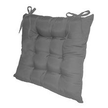 Assento para Cadeira Microfibra Cimento 40x40cm