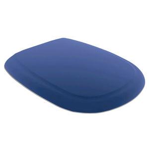 Assento Sanitário Polipropileno Azul Anatômico para Vaso Icasa Modelo Sabatini Tupan