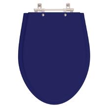 Assento Sanitario Absolute Azul Cobalto para Vaso Ideal Stand