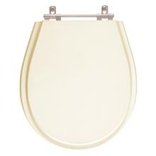 Assento Sanitario Avalon Bone (Bege Claro) para Vaso Ideal St