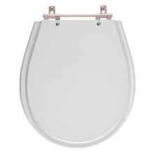 Assento Sanitario Avalon Silver (Cinza Claro) para Vaso Ideal