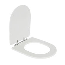 Assento Sanitário Carrara/ Nuova/ Duna/ Link MDF Branco Fechamento Comum Sensea