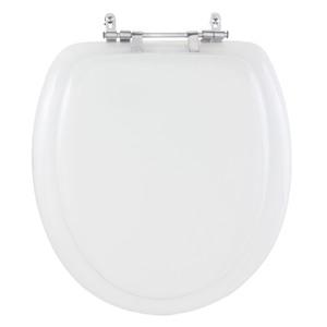Assento Sanitário Convencional Almofadado Branco Semita