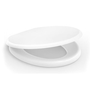 Assento Sanitário Convencional Polipropileno Almofadado Branco Fechamento Comum Confort Incepa