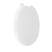 Assento Sanitário Convencional Almofadado Polipropileno Branco Fechamento Comum Sensea