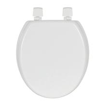 Assento Sanitário Convencional Madeira Branco Alba Sensea