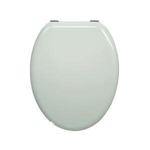 Assento Sanitário Convencional Madeira Moldada Branco POP Sensea