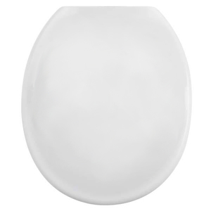 Assento Sanitário Convencional Polipropileno Branco Fechamento Comum Plastilit