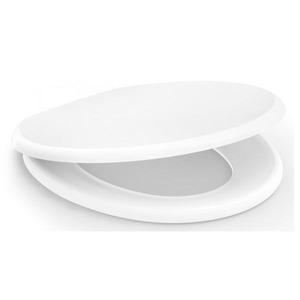 Assento Sanitário Convencional Polipropileno Soprado Branco Fechamento Comum Confort Incepa