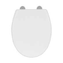 Assento Sanitário Convencional Termofixo Branco Fechamento Suave Easy Sensea