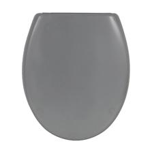 Assento Sanitário Convencional Termofixo Cinza Fechamento Suave Klik Sensea