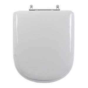 Assento Sanitário Madeira Prata para Vaso  Deca/ Icasa/Celite