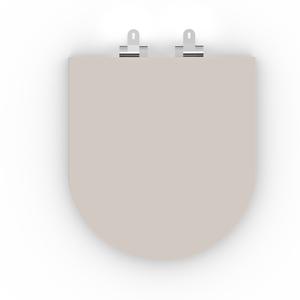 Assento Sanitário Oval Poliester Branco Celite