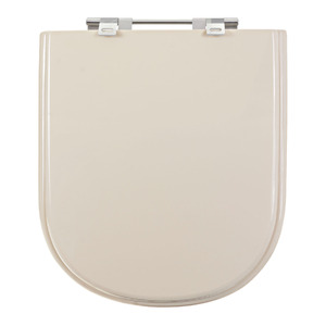 Assento Sanitário Plástico Prata para Vaso  Deca/ Icasa/Celite