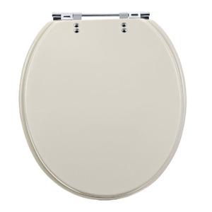 Assento Sanitário Plástico Prata para Vaso  Icasa/Jacuzzi/Celite/Deca