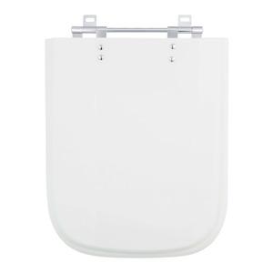 Assento Sanitário Plástico Prata para Vaso  Ideal Standard