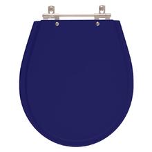 Assento Sanitario Poliester Avalon Azul Cobalto para Vaso Ide