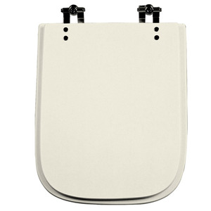 Assento Sanitário Comum Poliéster Bone P/Vaso Ideal Standart Tivoli Comp 44,00 Cm Larg 33,50 Cm 16,00 Cm Thebas