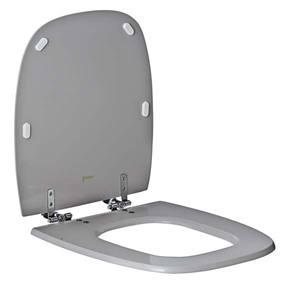 Assento Sanitário Comum Poliéster Cz P/Vaso Celite Fit/Versato Comp 40,50 Cm Larg 35,50 Cm 15,50 Cm Thebas