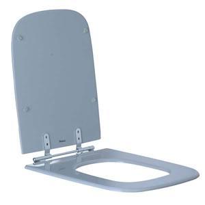 Assento Sanitário Comum Poliéster S P/Vaso Ideal Standart Tivoli Comp 42,00 Cm Larg 37,00 Cm 17,10 Cm Sicmol