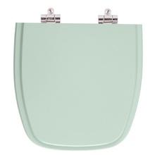 Assento Sanitario Poliester Soft Close Fit Agua Marinha (Verd