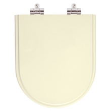 Assento Sanitario Poliester Soft Close Oxford Creme para Vaso