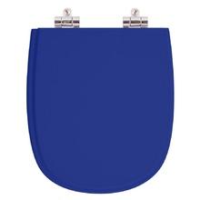 Assento Sanitario Poliester Soft Close Sabatini Azul para Vas