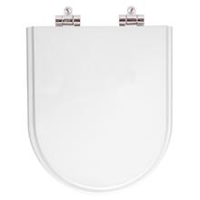 Assento Sanitario Poliester Soft Close Smart Branco para Vaso