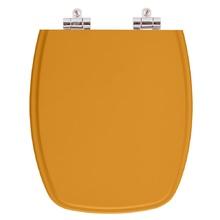 Assento Sanitario Poliester Soft Close Stylus Amarelo Terra p