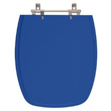 Assento Sanitario Poliester Stylus Azul Mineral para Vaso Cel