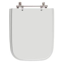 Assento Sanitario Poliester Tivoli Silver (Cinza Claro) para