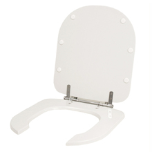Assento Sanitario Poliester Vogue Plus Conforto (PNE) Branco