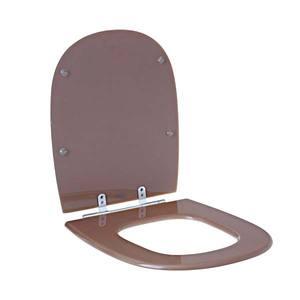 Assento Sanitário Comum Pp Amend P/Vaso Icasa Paris Comp 41,50 Cm Larg 37,00 Cm 15,60 Cm Sicmol
