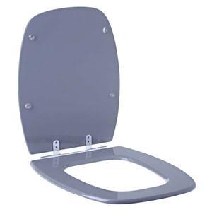Assento Sanitário Comum Pp Cz Perola P/Vaso Celite Stylus Comp 43,50 Cm Larg 33,50 Cm 15,60 Cm Sicmol