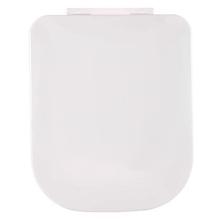 Assento Sanitário Quadra | Polo | Unic | Piano Polipropileno Gelo Fechamento Suave Sensea