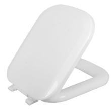 Assento Sanitário Quadra Almofadado Branco Astra