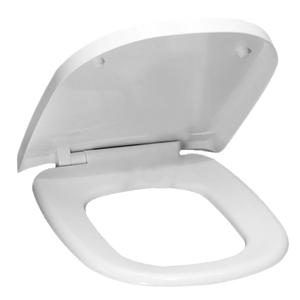 Assento Sanitário Quadra/Debba Resina Branco Fechamento Suave Tupan