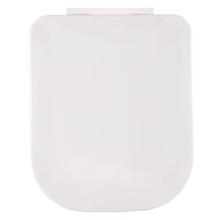 Assento Sanitário Quadra/Polo/Unic/Piano Polipropileno Gelo Fechamento Suave Deca