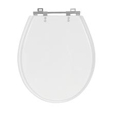 Assento Sanitário Ravena/ Izy/ Targa Poliéster Branco Fechamento Comum Sensea