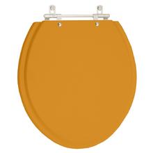Assento Sanitario Saveiro Amarelo Terra para Vaso Celite