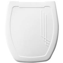Assento Sanitário Thema Almofadado Branco Mebuki