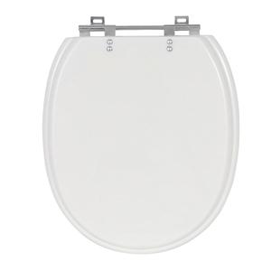 Assento Sanitário Village/ Polo Poliéster Branco Fechamento Comum Sensea