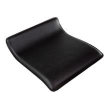 Assento Tecido Sintético para Base Delinea 44x40cm Preto Importado