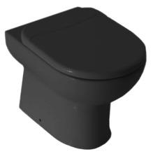 Bacia Sanitária Convencional Smart 40x37 cm Preta Celite