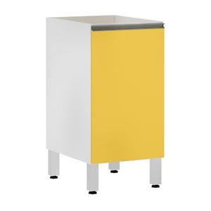 Balcão 1 Porta Amarela 82,5x40x53cm Spring